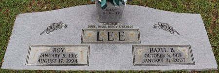 LEE, HAZEL - Webster County, Louisiana | HAZEL LEE - Louisiana Gravestone Photos
