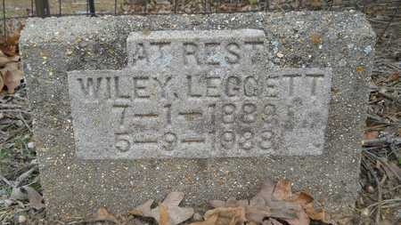 LEGGETT, WILEY - Webster County, Louisiana | WILEY LEGGETT - Louisiana Gravestone Photos