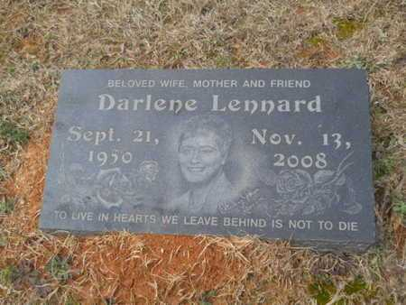 LENNARD, DARLENE - Webster County, Louisiana   DARLENE LENNARD - Louisiana Gravestone Photos