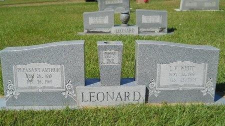 LEONARD, L V - Webster County, Louisiana   L V LEONARD - Louisiana Gravestone Photos