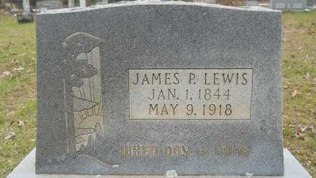LEWIS, JAMES P - Webster County, Louisiana | JAMES P LEWIS - Louisiana Gravestone Photos