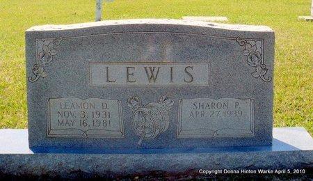 LEWIS, SHARON P - Webster County, Louisiana | SHARON P LEWIS - Louisiana Gravestone Photos