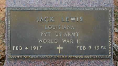 LEWIS, JACK (VETERAN WWII) - Webster County, Louisiana | JACK (VETERAN WWII) LEWIS - Louisiana Gravestone Photos