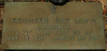 LEWIS, KENNETH RAY (VETERAN) - Webster County, Louisiana | KENNETH RAY (VETERAN) LEWIS - Louisiana Gravestone Photos