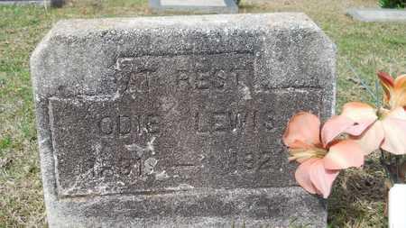 LEWIS, ODIE - Webster County, Louisiana   ODIE LEWIS - Louisiana Gravestone Photos