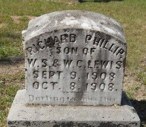 LEWIS, RICHARD PHILLIP (OBIT) - Webster County, Louisiana | RICHARD PHILLIP (OBIT) LEWIS - Louisiana Gravestone Photos