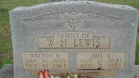 LEWIS, WALTON H - Webster County, Louisiana | WALTON H LEWIS - Louisiana Gravestone Photos