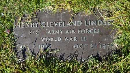 LINDSEY, HENRY CLEVELAND (VETERAN WWII) - Webster County, Louisiana | HENRY CLEVELAND (VETERAN WWII) LINDSEY - Louisiana Gravestone Photos
