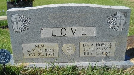 LOVE, LULA - Webster County, Louisiana | LULA LOVE - Louisiana Gravestone Photos