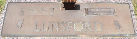 LUNSFORD, DORLESE - Webster County, Louisiana | DORLESE LUNSFORD - Louisiana Gravestone Photos