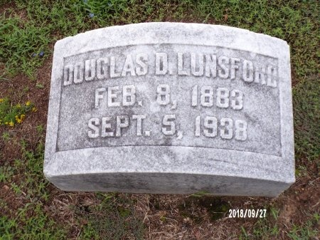 LUNSFORD, DOUGLAS DURWOOD - Webster County, Louisiana | DOUGLAS DURWOOD LUNSFORD - Louisiana Gravestone Photos