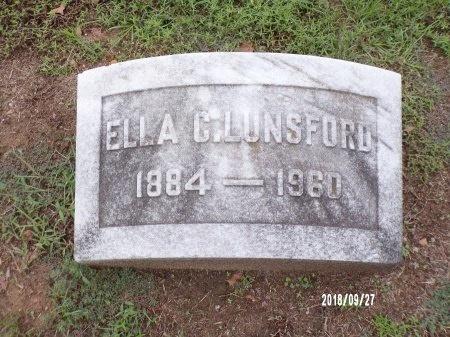 LUNSFORD, ELLA - Webster County, Louisiana | ELLA LUNSFORD - Louisiana Gravestone Photos