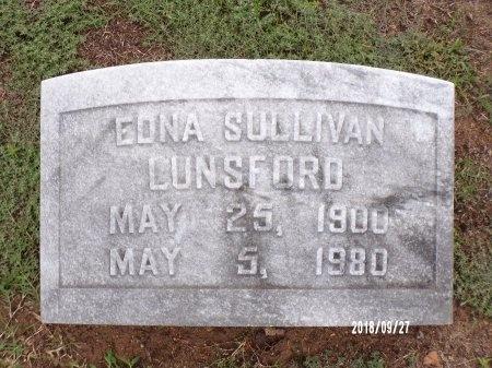 LUNSFORD, EDNA - Webster County, Louisiana | EDNA LUNSFORD - Louisiana Gravestone Photos