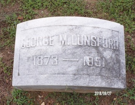 LUNSFORD, GEORGE MONZINGO - Webster County, Louisiana | GEORGE MONZINGO LUNSFORD - Louisiana Gravestone Photos