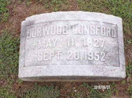 LUNSFORD, JAMES DURWOOD - Webster County, Louisiana | JAMES DURWOOD LUNSFORD - Louisiana Gravestone Photos