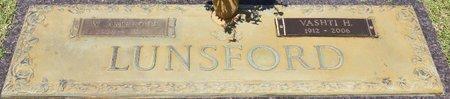 LUNSFORD, VASHTI - Webster County, Louisiana | VASHTI LUNSFORD - Louisiana Gravestone Photos