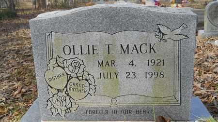 MACK, OLLIE T - Webster County, Louisiana | OLLIE T MACK - Louisiana Gravestone Photos