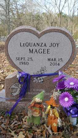 MAGEE, LEQUANZA JOY - Webster County, Louisiana | LEQUANZA JOY MAGEE - Louisiana Gravestone Photos