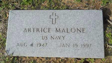 MALONE, ARTRICE (VETERAN) - Webster County, Louisiana   ARTRICE (VETERAN) MALONE - Louisiana Gravestone Photos
