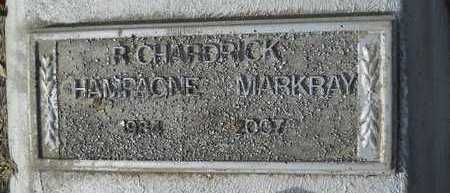 "MARKRAY, R CHARDRICK ""CHAMPAGNE"" - Webster County, Louisiana 