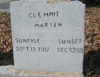 MARTIN, CLEMMIE - Webster County, Louisiana | CLEMMIE MARTIN - Louisiana Gravestone Photos