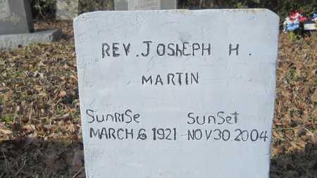 MARTIN, JOSEPH H, REV - Webster County, Louisiana   JOSEPH H, REV MARTIN - Louisiana Gravestone Photos