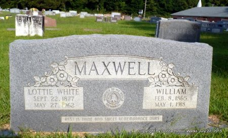 MAXWELL, WILLIAM M - Webster County, Louisiana | WILLIAM M MAXWELL - Louisiana Gravestone Photos