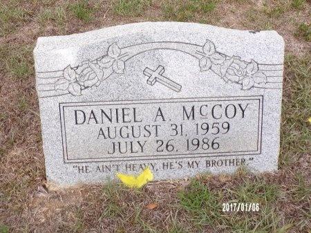 MCCOY, DANIEL A - Webster County, Louisiana   DANIEL A MCCOY - Louisiana Gravestone Photos