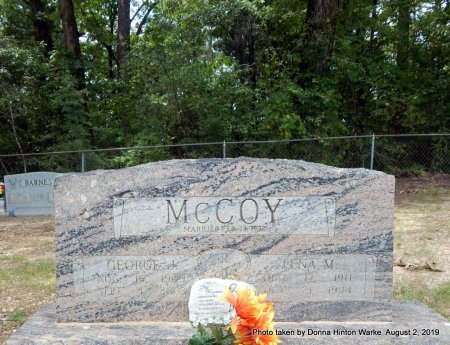 MCCOY, LENA MAE - Webster County, Louisiana   LENA MAE MCCOY - Louisiana Gravestone Photos