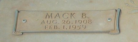 MCCOY, MACK B (CLOSE UP) - Webster County, Louisiana | MACK B (CLOSE UP) MCCOY - Louisiana Gravestone Photos