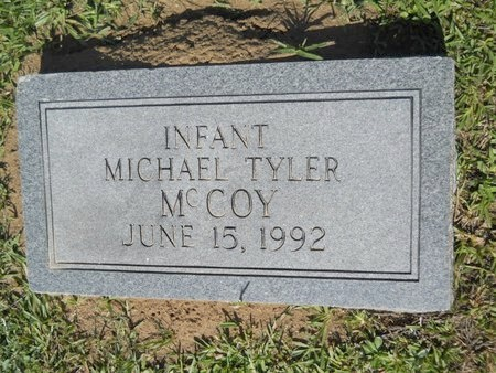 MCCOY, MICHAEL TYLER - Webster County, Louisiana   MICHAEL TYLER MCCOY - Louisiana Gravestone Photos