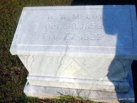 MCCOY, WILLIAM W - Webster County, Louisiana   WILLIAM W MCCOY - Louisiana Gravestone Photos