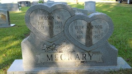 MCCRARY, RUBY - Webster County, Louisiana | RUBY MCCRARY - Louisiana Gravestone Photos