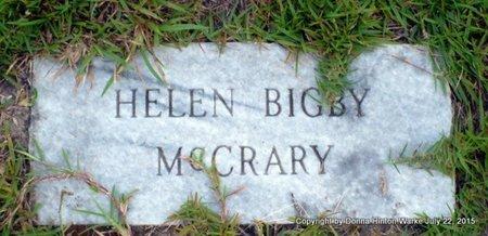 MCCRARY, HELEN - Webster County, Louisiana | HELEN MCCRARY - Louisiana Gravestone Photos