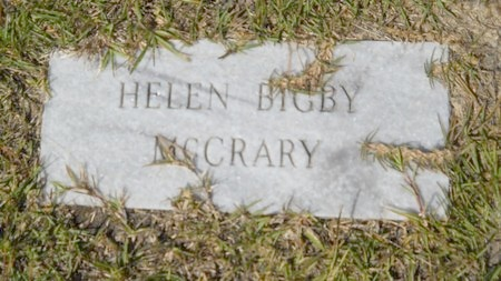 MCCRARY, HELEN - Webster County, Louisiana | HELEN MCCRARY - Louisiana Gravestone Photos