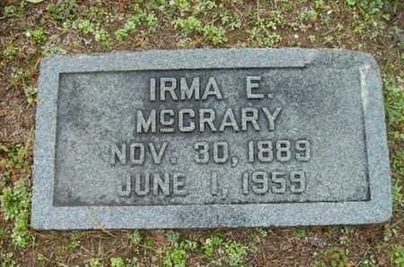 MCCRARY, IRMA - Webster County, Louisiana | IRMA MCCRARY - Louisiana Gravestone Photos