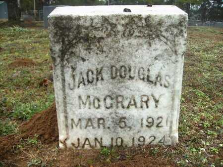 MCCRARY, JACK DOUGLAS - Webster County, Louisiana | JACK DOUGLAS MCCRARY - Louisiana Gravestone Photos