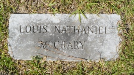 MCCRARY, LOUIS NATHANIEL - Webster County, Louisiana | LOUIS NATHANIEL MCCRARY - Louisiana Gravestone Photos