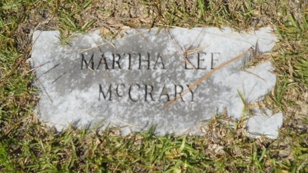 MCCRARY, MARTHA LEE - Webster County, Louisiana | MARTHA LEE MCCRARY - Louisiana Gravestone Photos