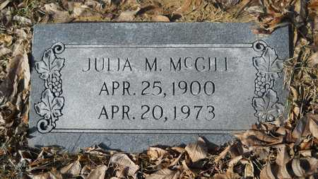 MCGILL, JULIA M - Webster County, Louisiana | JULIA M MCGILL - Louisiana Gravestone Photos