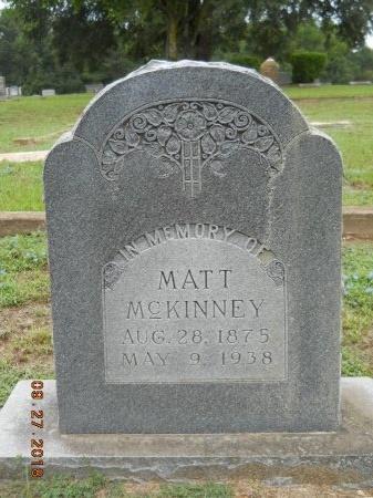 MCKINNEY, MATT - Webster County, Louisiana | MATT MCKINNEY - Louisiana Gravestone Photos
