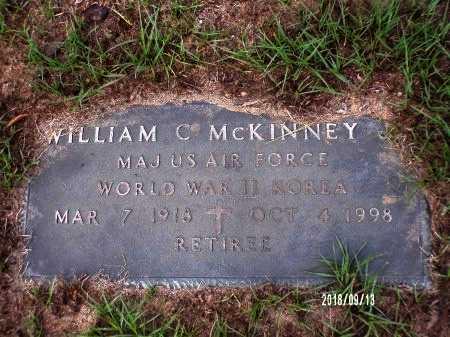 MCKINNEY  , WILLIAM C (VETERAN 2 WARS) - Webster County, Louisiana | WILLIAM C (VETERAN 2 WARS) MCKINNEY   - Louisiana Gravestone Photos