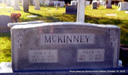 MCKINNEY, VIOLA - Webster County, Louisiana | VIOLA MCKINNEY - Louisiana Gravestone Photos