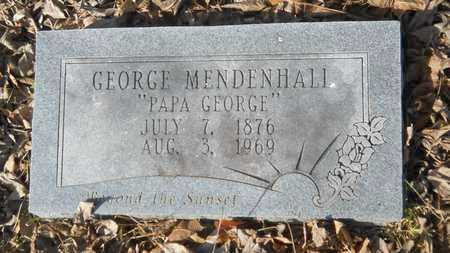 MENDENHALL, GEORGE - Webster County, Louisiana | GEORGE MENDENHALL - Louisiana Gravestone Photos