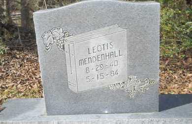 MENDENHALL, LEOTIS - Webster County, Louisiana | LEOTIS MENDENHALL - Louisiana Gravestone Photos