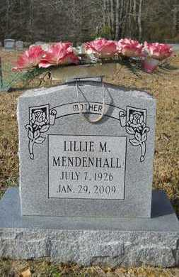 MENDENHALL, LILLIE M - Webster County, Louisiana | LILLIE M MENDENHALL - Louisiana Gravestone Photos