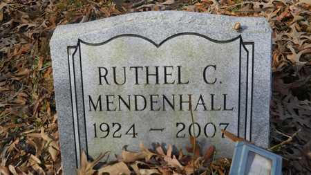 MENDENHALL, RUTHEL C - Webster County, Louisiana   RUTHEL C MENDENHALL - Louisiana Gravestone Photos