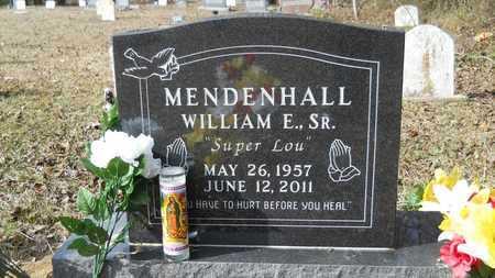 MENDENHALL, WILLIAM E, SR - Webster County, Louisiana | WILLIAM E, SR MENDENHALL - Louisiana Gravestone Photos