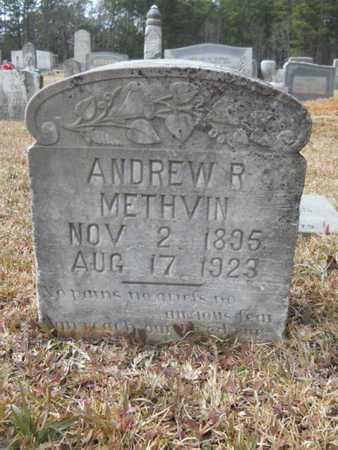 METHVIN, ANDREW R - Webster County, Louisiana | ANDREW R METHVIN - Louisiana Gravestone Photos