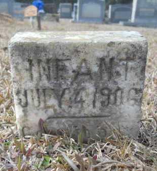 METHVIN, INFANT - Webster County, Louisiana   INFANT METHVIN - Louisiana Gravestone Photos